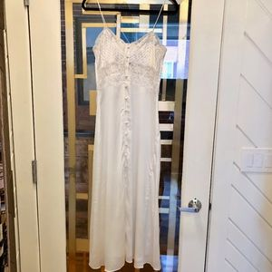 Zara Satin Lingerie Style Dress